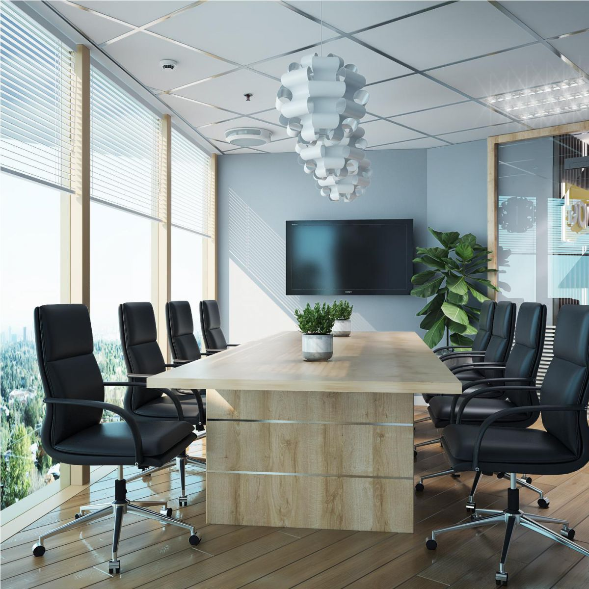 Công trình Nội thất văn phòng Ngân hàng Sacombank