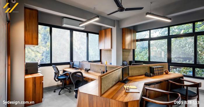 Thiết kế nội thất phòng làm việc theo xu hướng mở