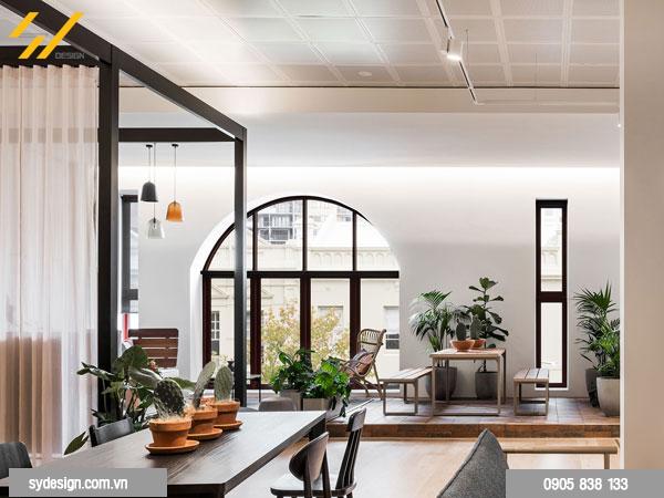 Thiết kế nội thất với ánh sáng