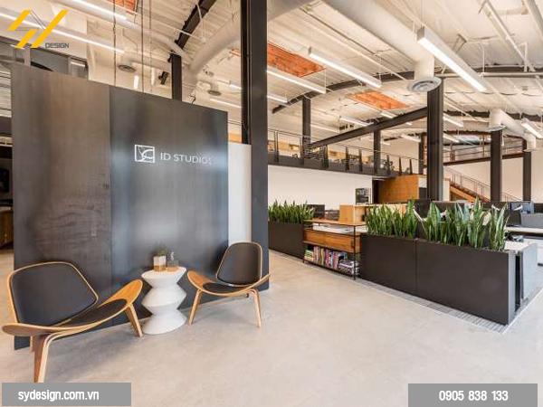 Thiết kế chỗ ngồi thỏa mái trong thiết kế khu vực nghỉ ngơi cho nhân viên