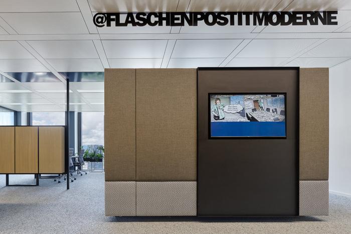 Bố trí màn hình/ Tivi cho khu vực nghỉ ngơi của nhân viên