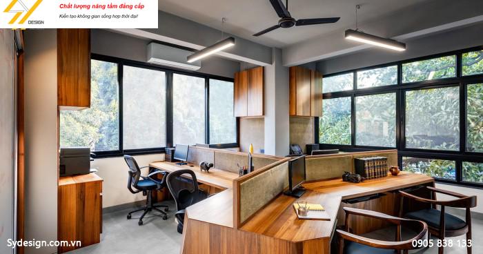 Văn phòng đẹp hút nguồn nhân lực cho công ty