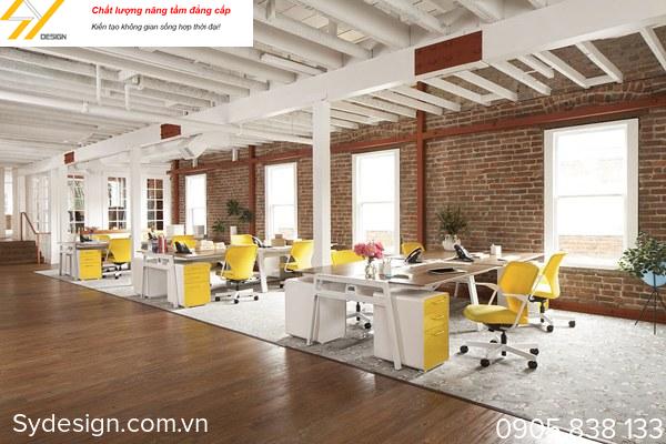 Thiết kế nội thất văn phòng giúp tăng giá trị thương hiệu