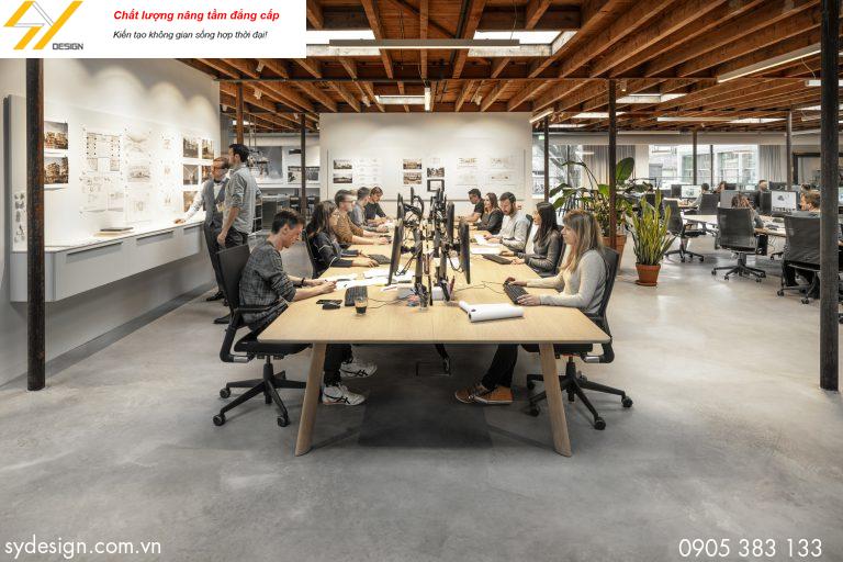 Thế nào là thiết kế nội thất văn phòng hiện đại?