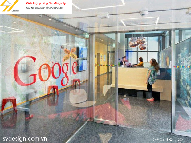 Bạn có thể chơi game, nằm ngồi thoải mái trong văn phòng của Google