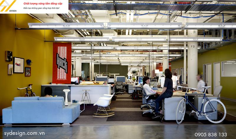 Thiết kế văn phòng hướng tới sự hài lòng cho nhân viên