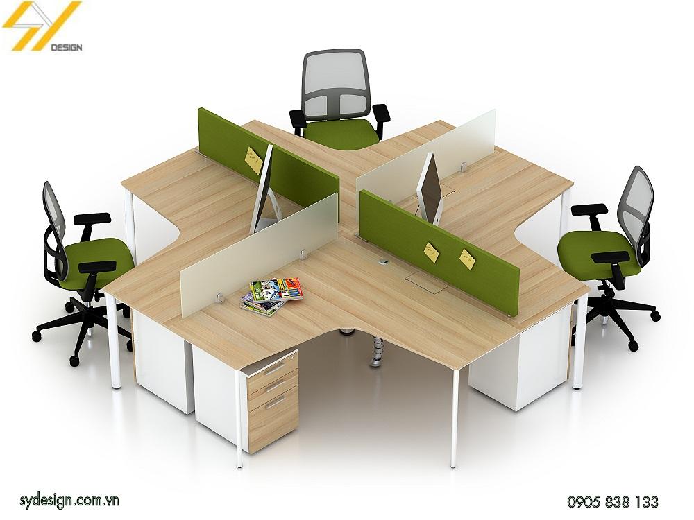 Chọn bàn có màu sắc độc đáo và hợp lý