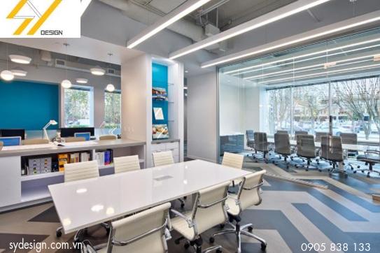 Thiết kế nội thất văn phòng hiện đại năm 2019