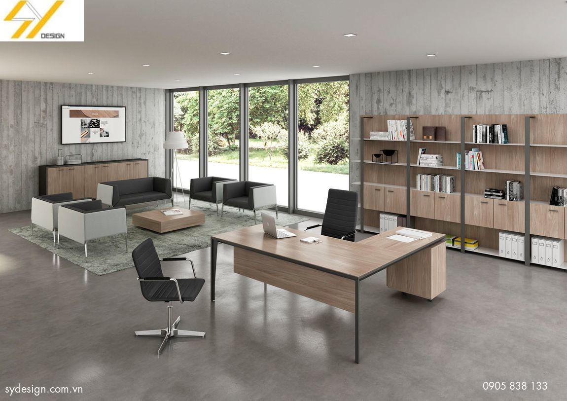 Thiết kế nội thất đơn giản nhưng rất hiện đại