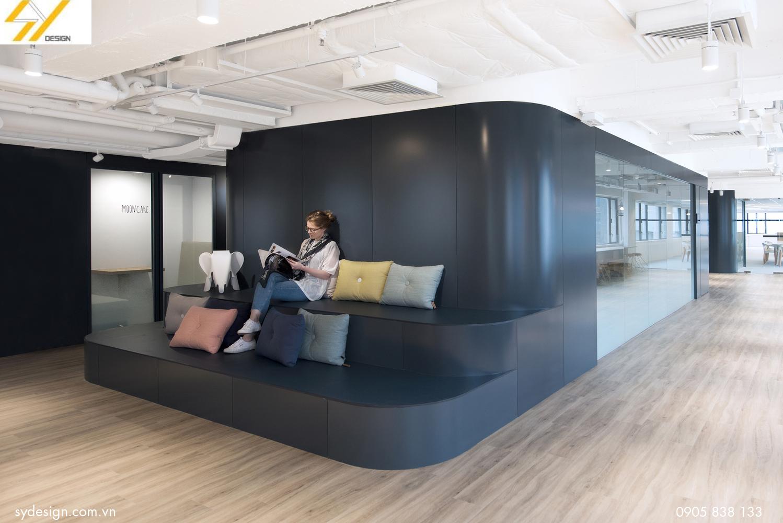 Kiến trúc hiện đại của văn phòng Uber tại Hồng Kông