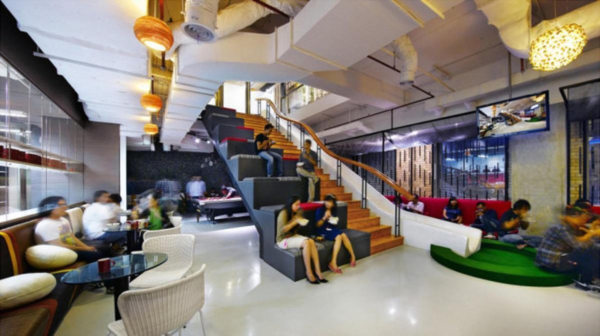 Văn phòng của chi nhánh công ty quảng cáo Ogilvy & Mather ở Jakarta
