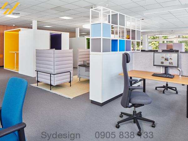 Dịch vụ thiết kế nội thất văn phòng