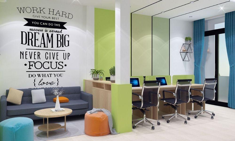 Quy luật trong thiết kế nội thất văn phòng 4