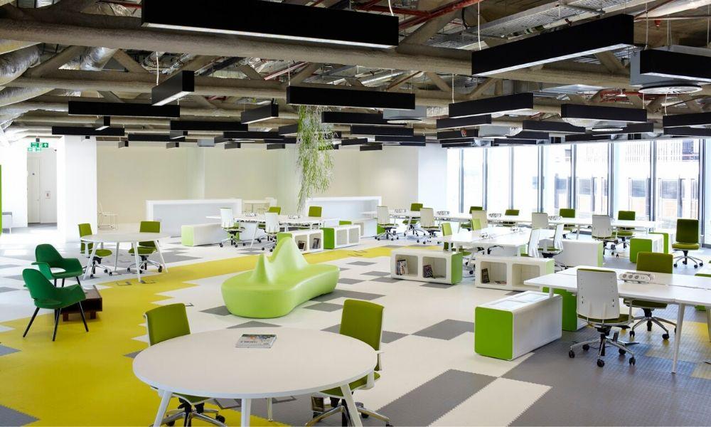 Quy luật trong thiết kế nội thất văn phòng 2