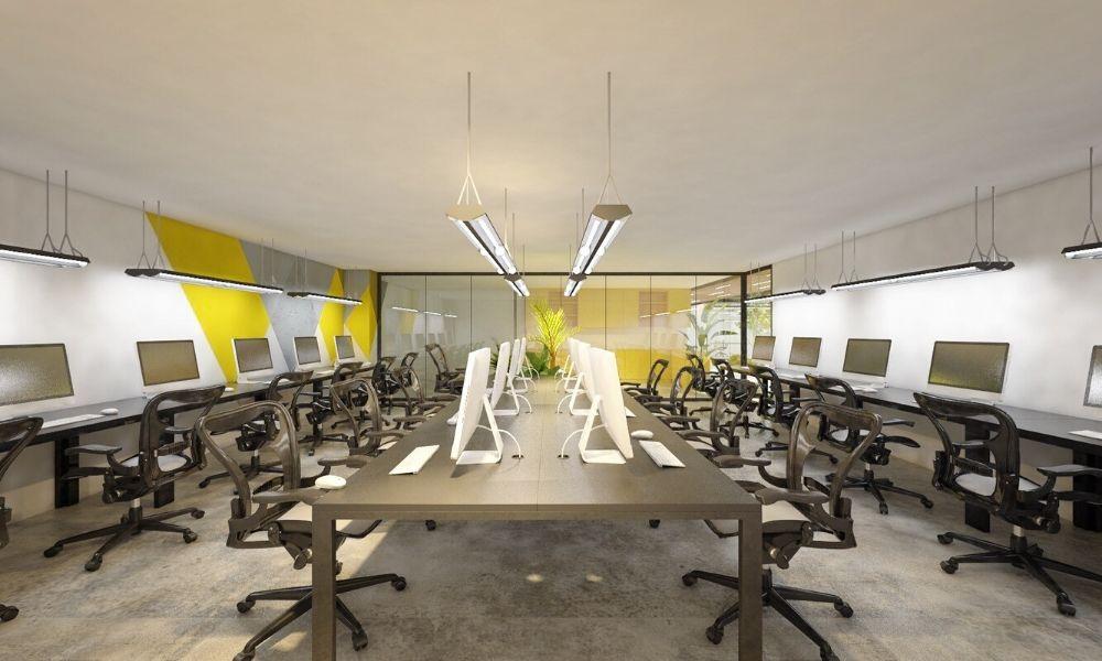 quy luật trong thiết kế nội thất văn phòng