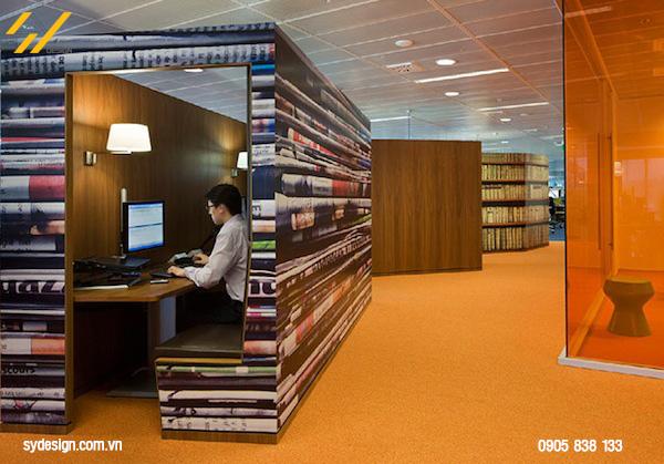 Thiết kế nội thất văn phòng đẹp và sáng tạo
