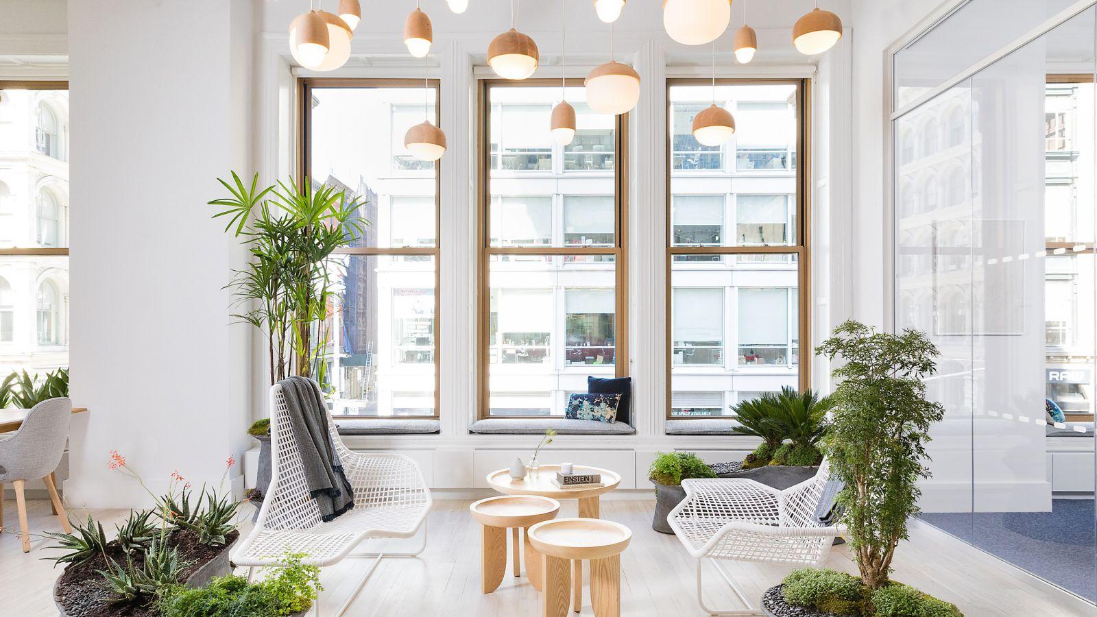 Phong cách Zen cho văn phòng