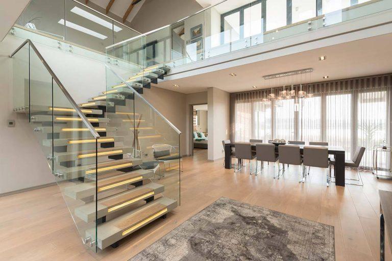 10 mẫu cầu thang đơn giản cho văn phòng hiện đại