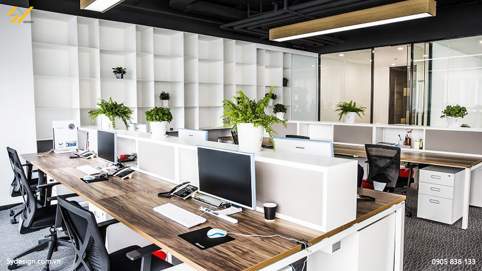 Dù thi công nội thất văn phòng thế nào, bạn cũng phải đảm bảo thỏa mãn mọi công năng sử dụng cho mọi người.