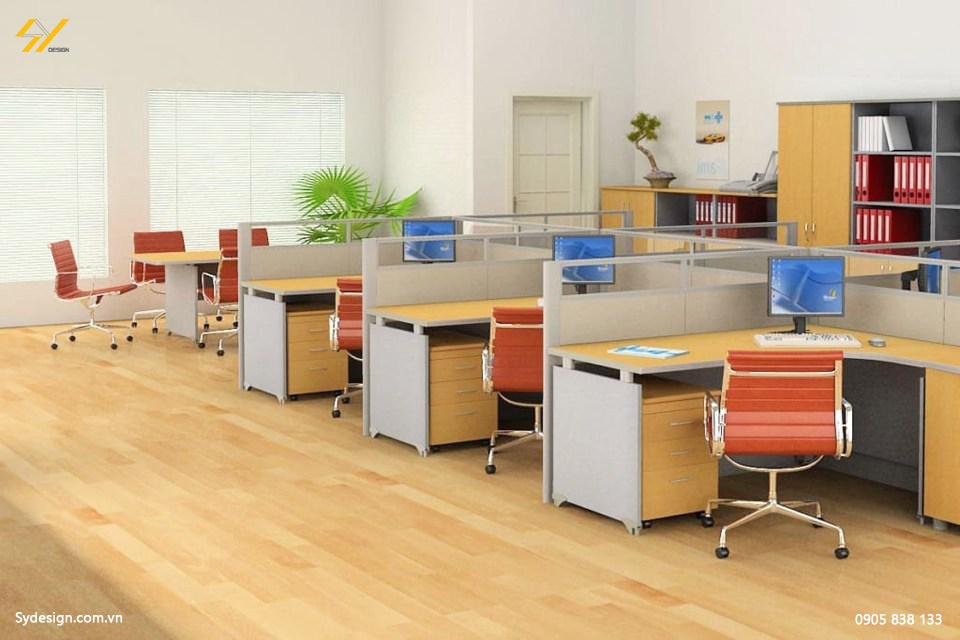 Khi thiết kế đòi hỏi bạn phải bố trí các phòng làm việc tách biệt