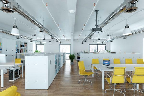 Không gian Xanh trong thiết kế nội thất văn phòng phong cách tối giản