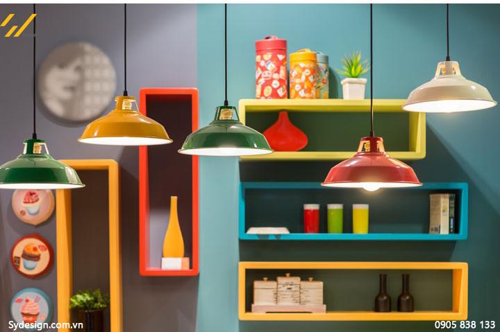 Thiết kế nội thất homestay theo phong cách color-block có nghĩa là sẽ kết hợp nhiều màu sắc