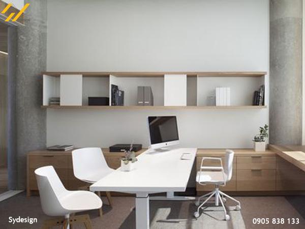 thiết kế nội thất văn phòng 60m2