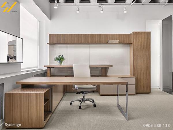 Nội thất văn phòng Nội thất phải hợp với tính chất công việc thì mới phát huy hiệu quả