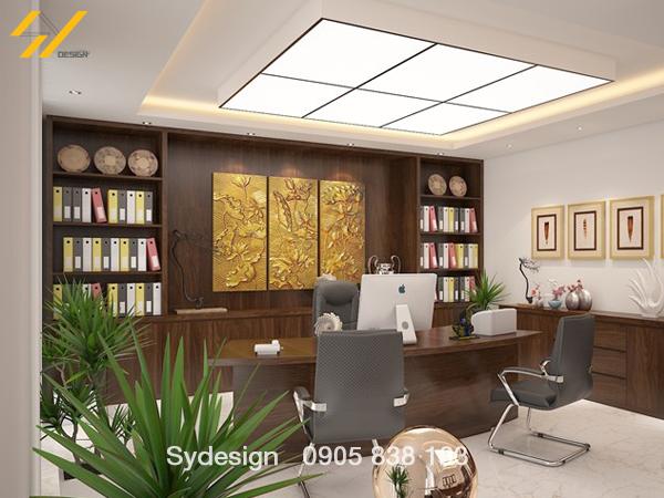 Thiết kế nội thất văn phòng cho người mệnh thủy