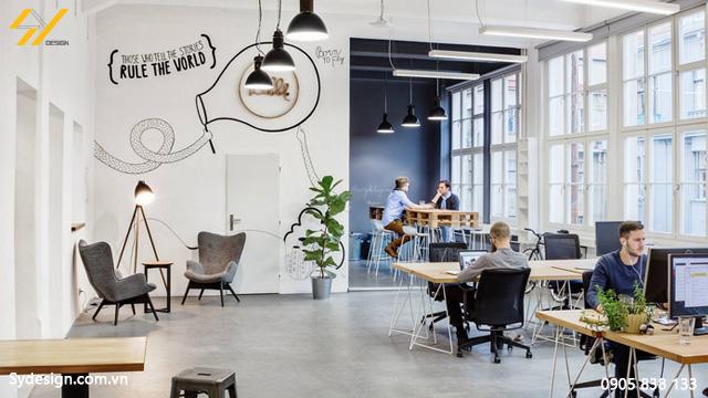 Những tông màu sáng mà đơn giản, vì điều này giúp cho văn phòng của bạn trở nên rộng hơn