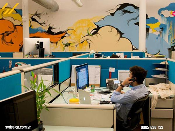 Lựa chọn thiết kế văn phòng 60m2 theo phong cách hiện đại