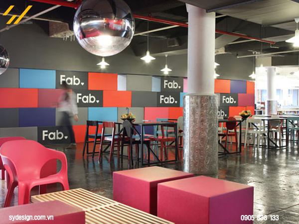 Thiết kế nội thất văn phòng Đồng bộ chất liệu sẽ mang lại những tác dụng tốt trên cả tưởng tượng