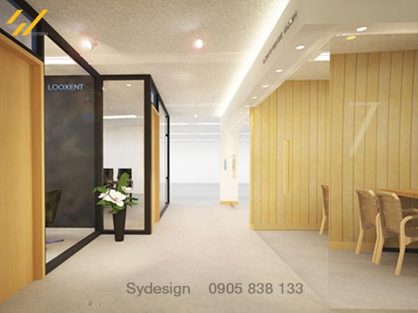 Mẫu thiết kế nội thất văn phòng hcm