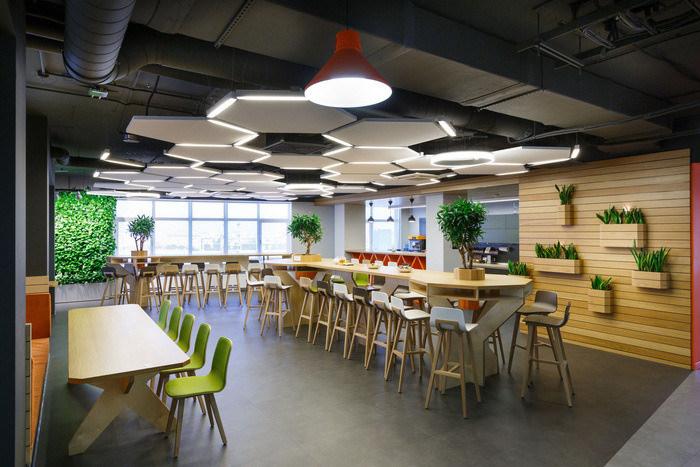 thiết kế nội thất văn phòng độc đáo, hiện đại