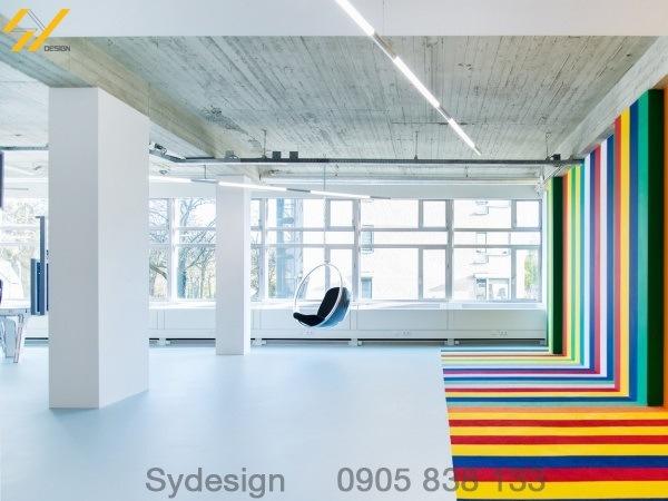màu sắc của nội thất văn phòng