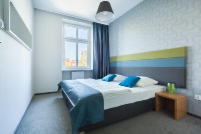 Giấy dán tường trong phòng ngủ